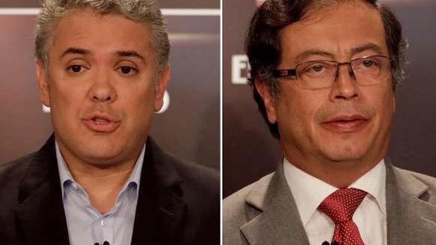 El uribista Duque pasa con ventaja a la segunda vuelta presidencial colombiana