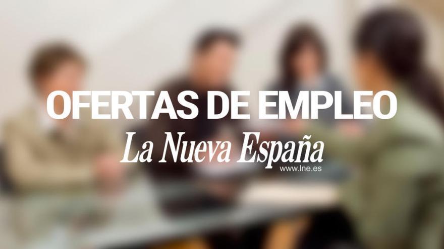Ofertas de empleo de la semana en Asturias