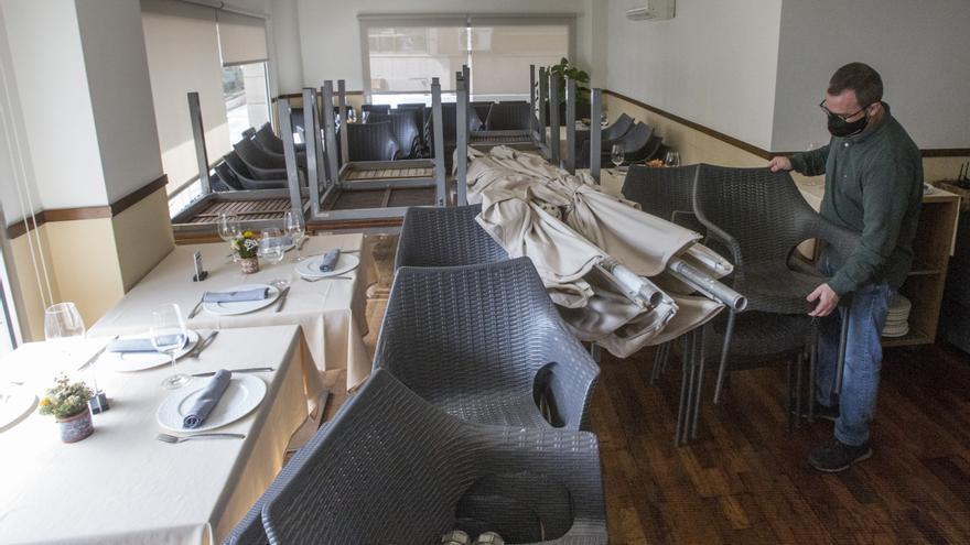 La hostelería reabrirá el martes en la provincia solo con las terrazas al aire libre