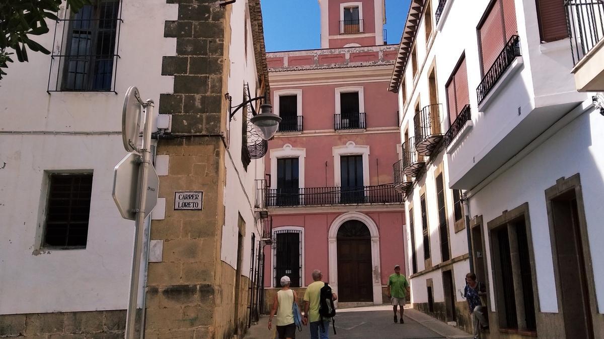 El centro histórico de Xàbia