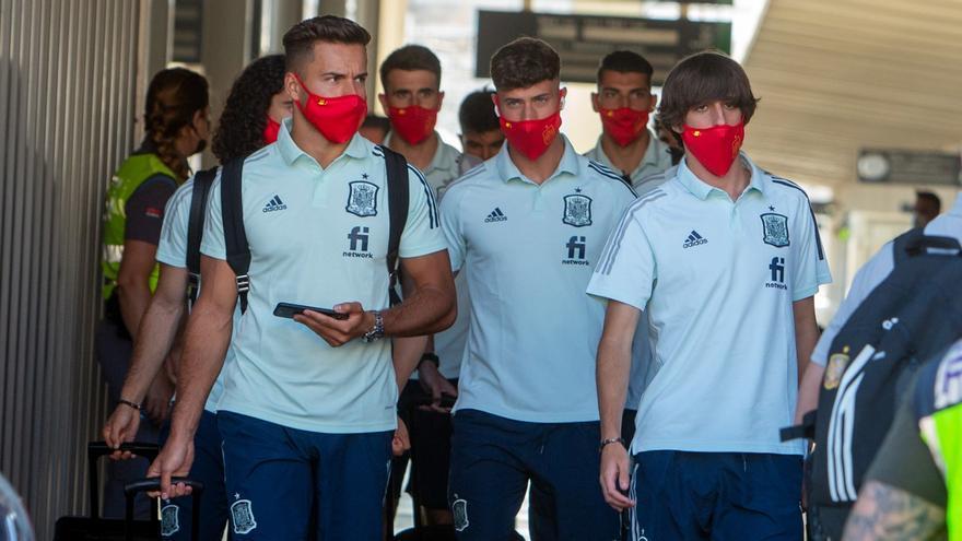 La selección olímpica de fútbol ya se encuentra en Alicante