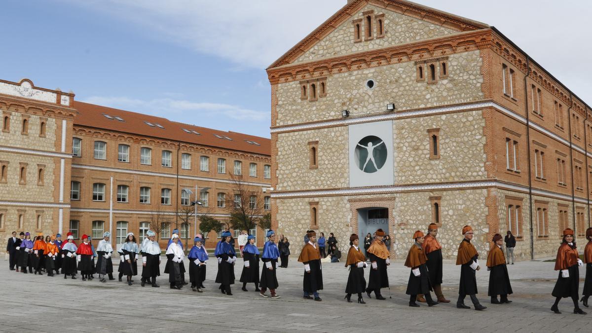 El Campus Viriato de Zamora en una imagen de archivo.