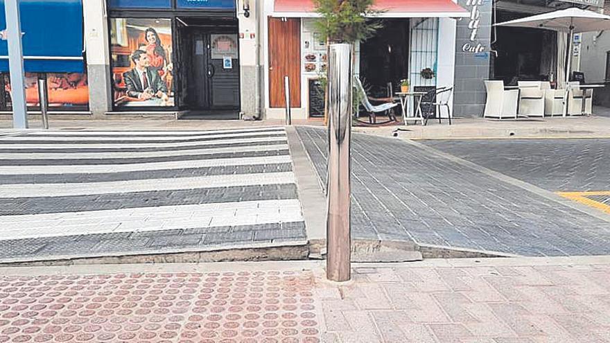 Anomalía en el pavimento de Alcúdia a causa de las altas temperaturas