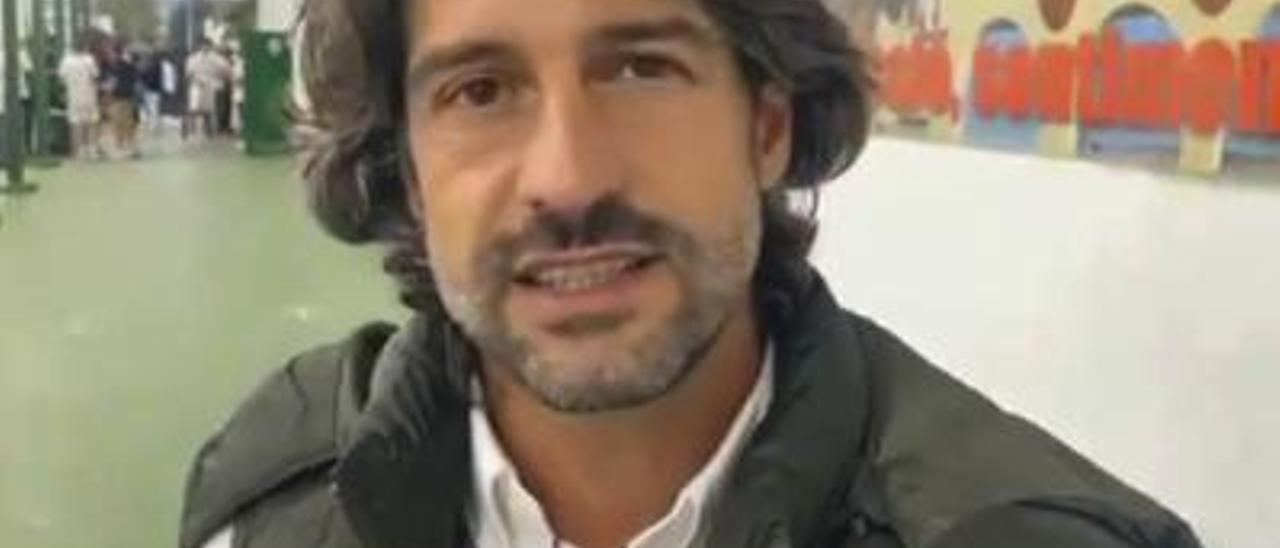 El entrenador, Roberto Bas. | LEVANTE-EMV