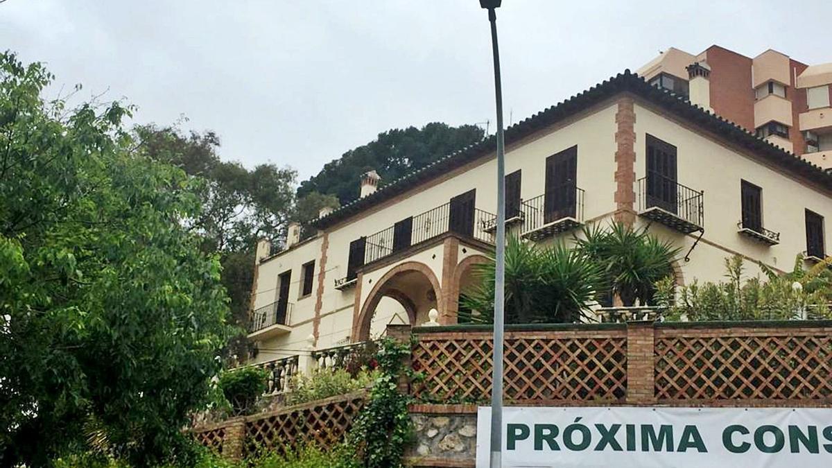 La villa de 1920 del Camino Nuevo, en la actualidad