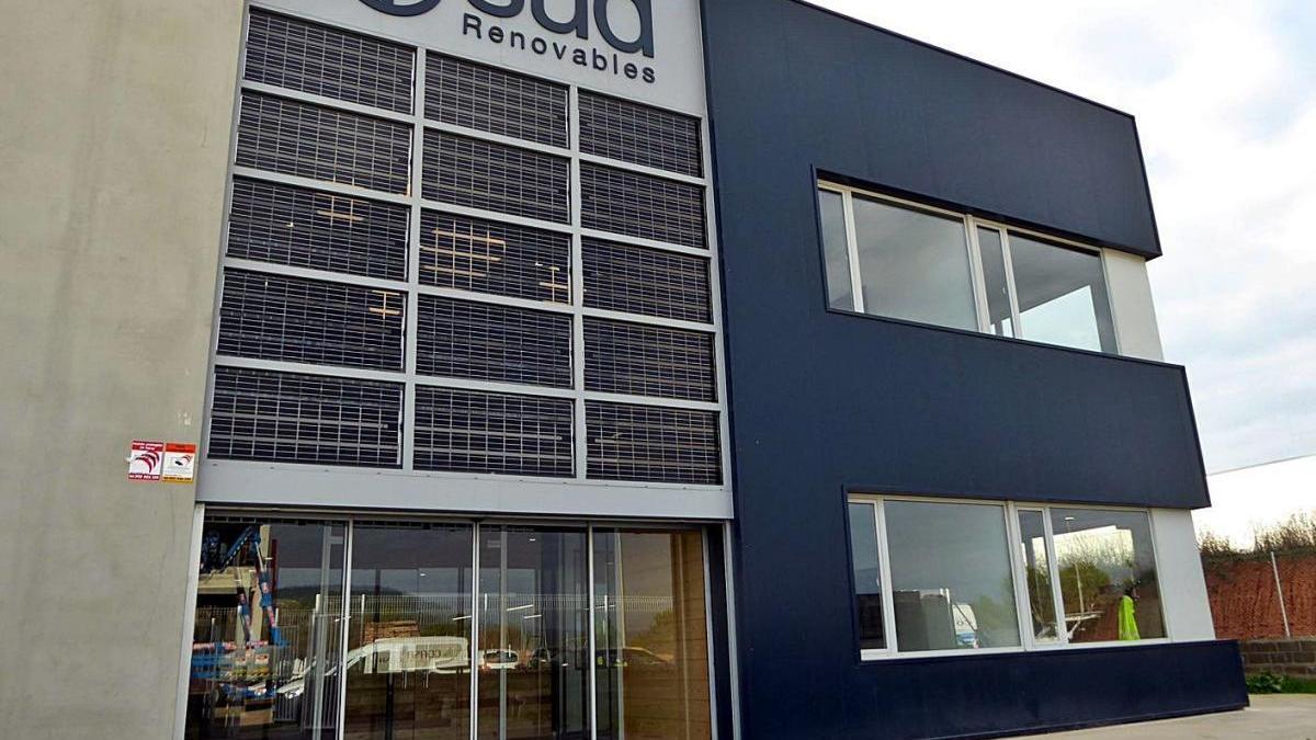 La nova seu de SUD Renovables al polígon El Soler d'Avinyó