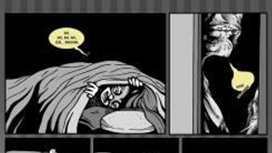 Los terrores nocturnos de un ilustrador convertidos en cómic