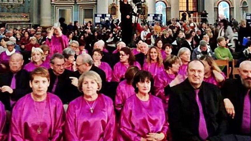 La Coral de Mera canta en gallego en Malta y hoy lo hará en el Concerto de Nadal