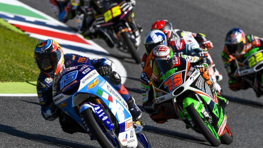 Arbolino guanya a Moto3 i Masiá entra al podi