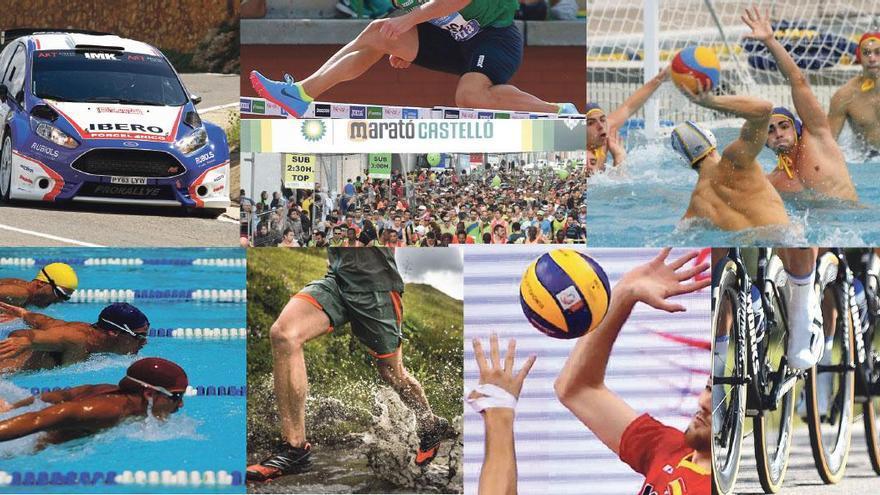 El calendario deportivo del 2019 en Castellón