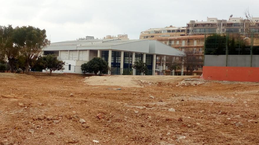 Acaba la demolición del colegio de educación especial Gargasindi de Calp