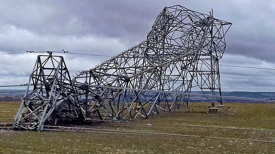 El fuerte viento provoca 128 incidentes en Castilla y León