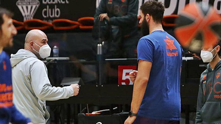 """Ponsarnau espera que Van Rossom esté """"a tope"""" pero Dubljevic y Tobey limitados"""