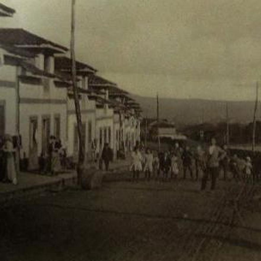 La zona de Buenavista hacia 1920
