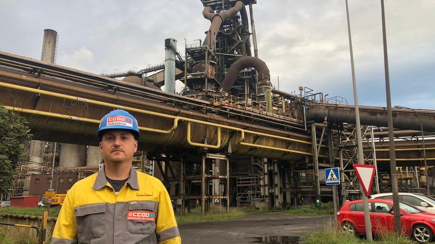 """""""Las empresas auxiliares de Arcelor realmente no saben qué futuro les espera"""""""