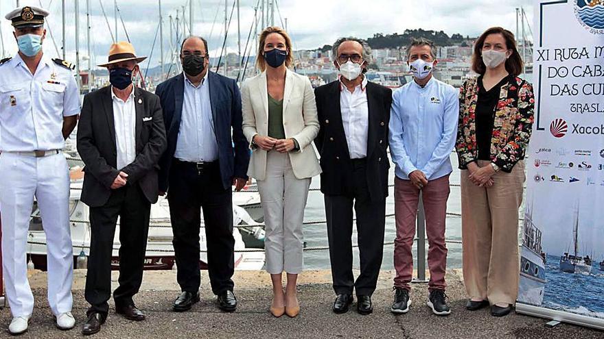 La IX Ruta Marítima Jacobea fija el rumbo desde Bouzas