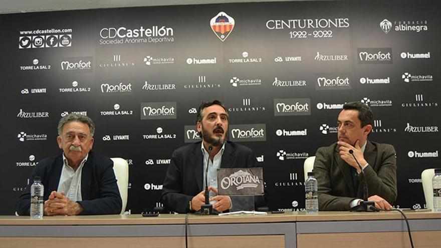 El Castellón anuncia la inclusión al proyecto del inversor José Miguel Garrido, que aportará alrededor de 1,1 millones de euros