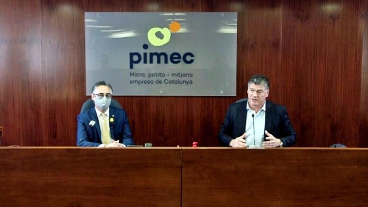 Pimec i Govern llancen un pla per assessorar empreses per salvar-les