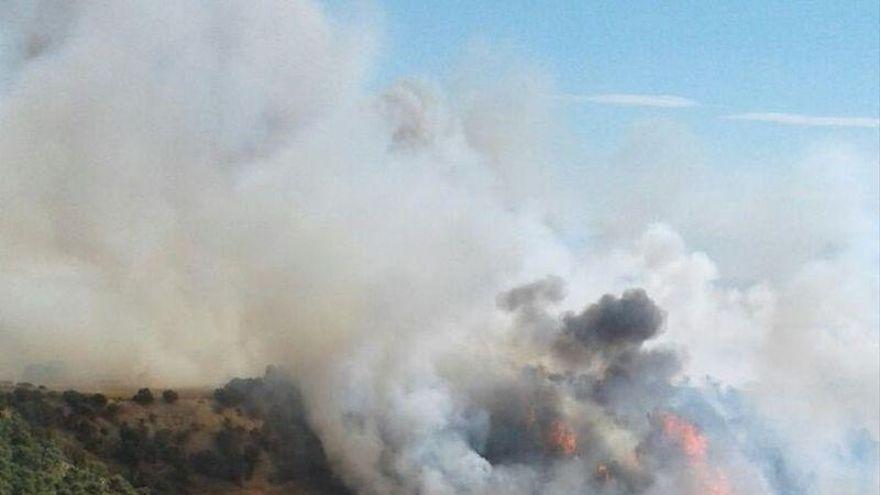 Alerta naranja por incendios forestales en casi todo Aragón