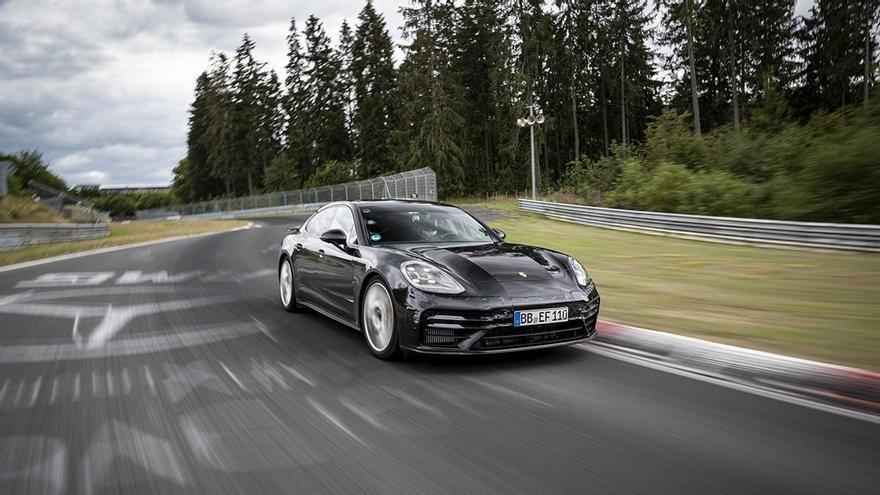 El Porsche Panamera logra el récord en su segmento en Nürburgring