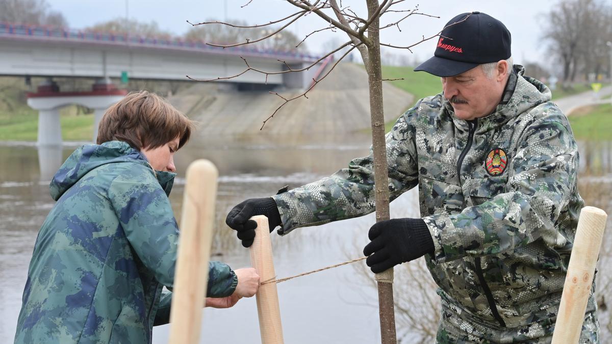 Alexander Lukashenko, presidente de Bielorrusia.