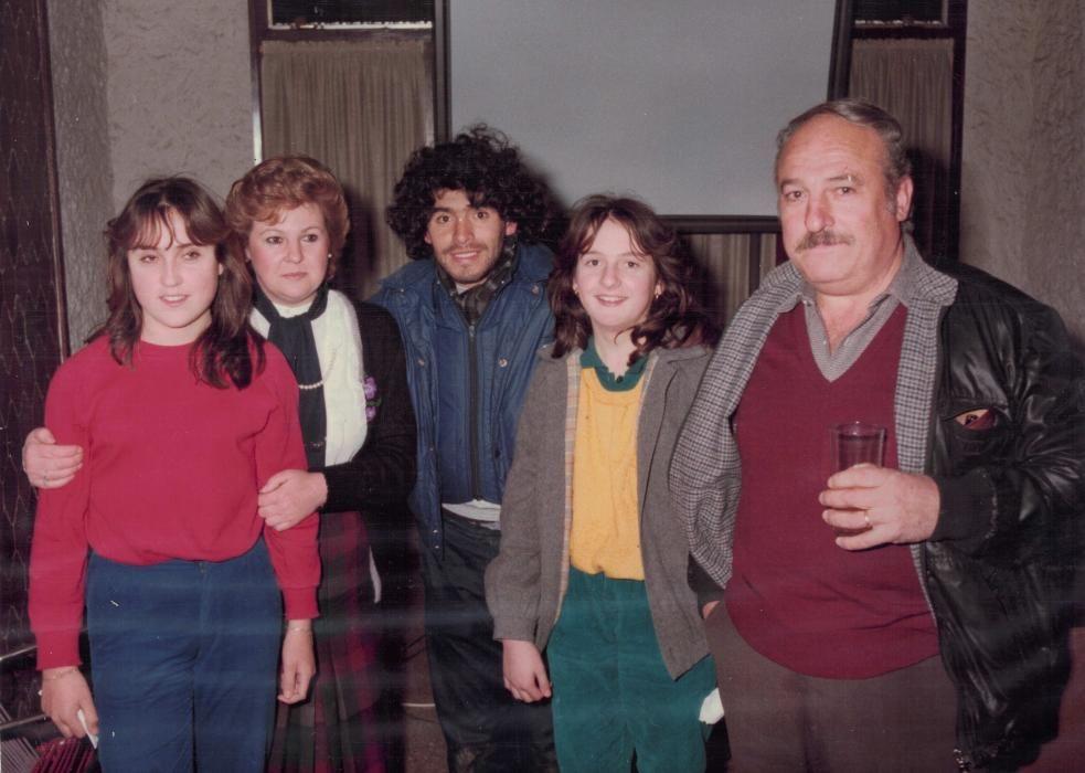 Maradona a la Penya Blaugrana Alt Empordà