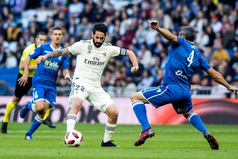 Las mejores imágenes del Real Madrid - Melilla.
