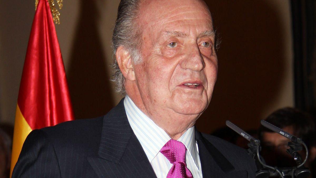 Imagen de archivo del rey emérito Juan Carlos I.