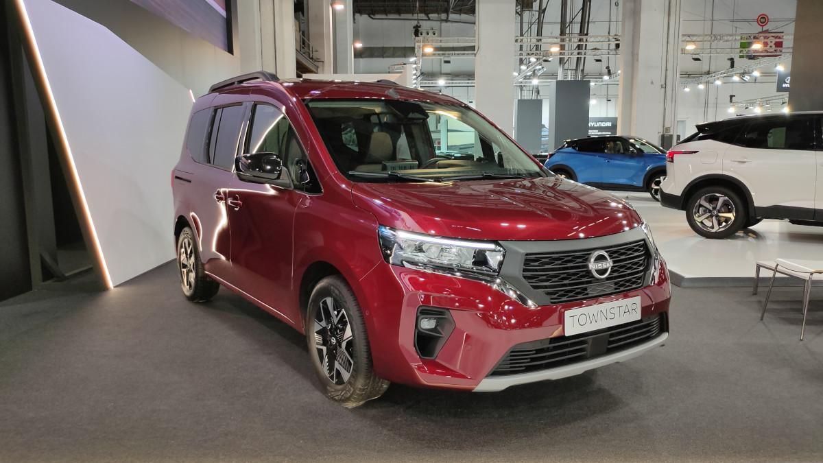 Novedades del Automobile Barcelona 2021: Nissan Townstar