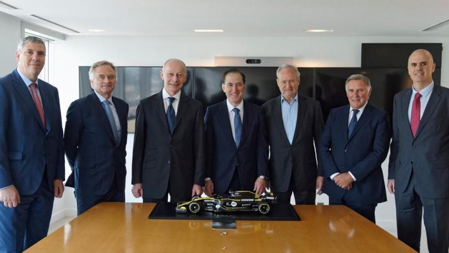 Mapfre, nuevo patrocinador oficial del Renault F1 Team