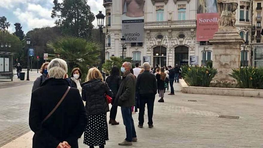 La exposición de Sorolla ya ha recibido 7.000 visitantes