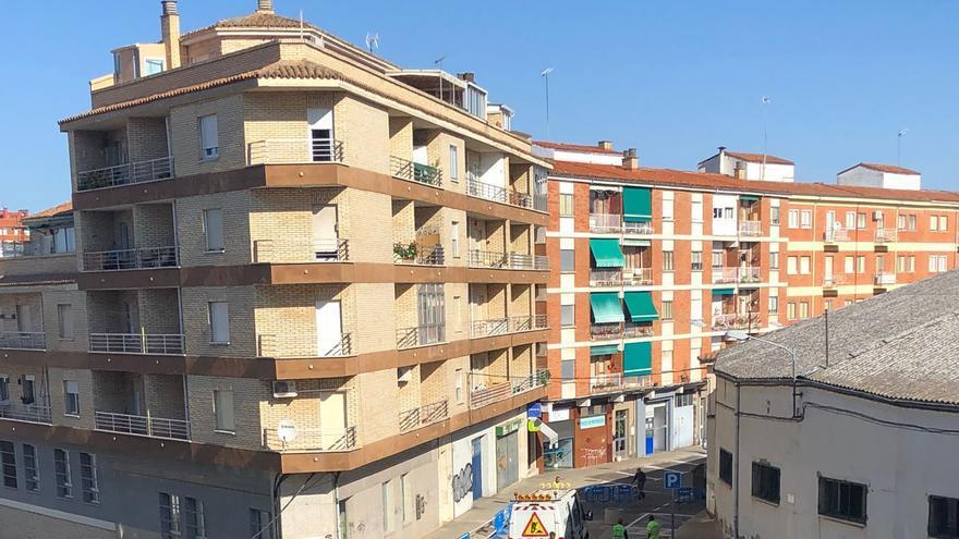 La calle Campo de Marte de Zamora vuelva a abrirse al tráfico