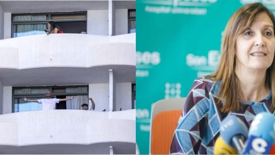 La jueza imputa por detención ilegal a la alto cargo del Govern que confinó a los estudiantes en el hotel covid de Mallorca