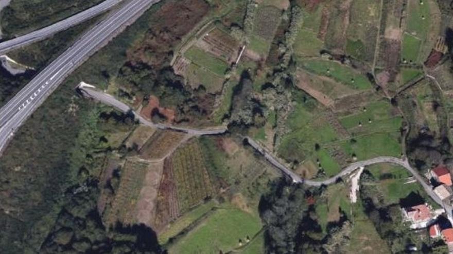 Moaña reforzará la recogida de pluviales en el vial entre Paradela y Broullón