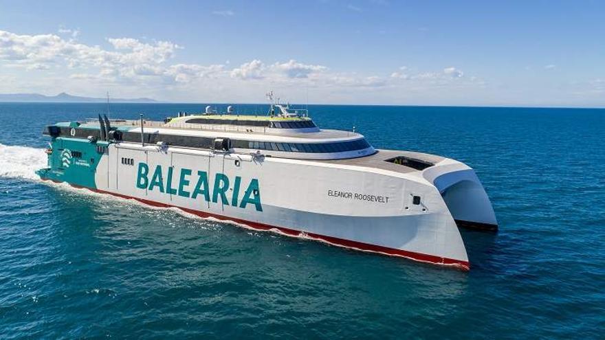 Baleària y Axpo completan un viaje descarbonizado movido por energía renovable