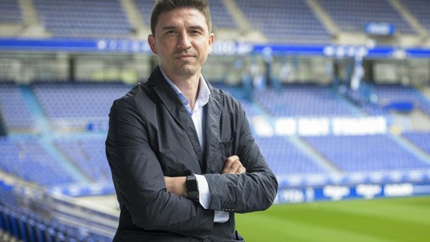 Oficial por fin: Rubén Reyes, nuevo director deportivo del Oviedo