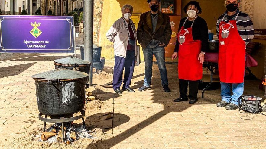 El ranxo de Capmany, el més antic del país, manté la tradició sense festa