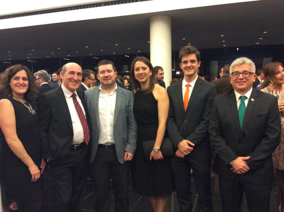 Eva Crisol, Luis Crisol, Emilio Argüeso, Yaneth Giraldo, Vicente Buades y Antonio Manresa, representantes de Ciudadanos