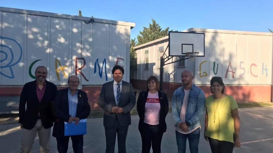 L'AMPA de l'escola Carme Guasch i Darné de Figueres està «molt enfadada»