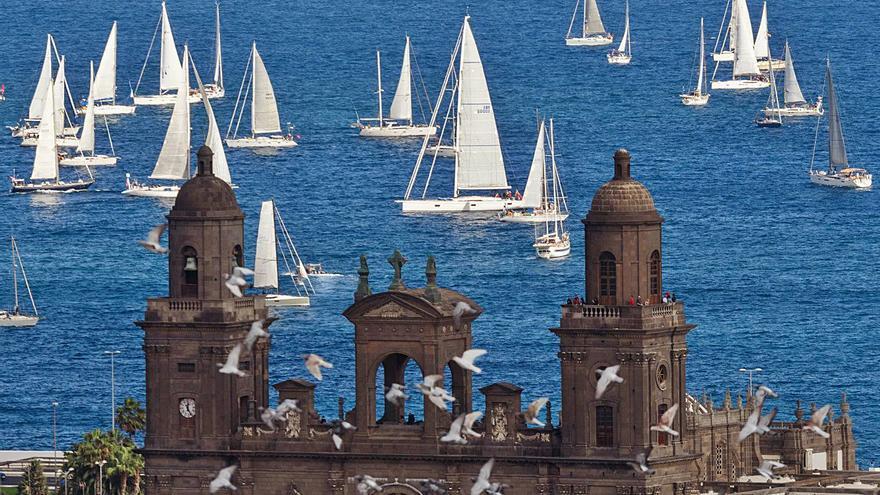 Los veleros de la ARC comienzan a llegar a Las Palmas de Gran Canaria
