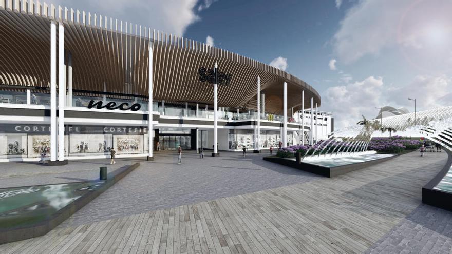 Así será el nuevo Centro Comercial El Saler tras su reforma