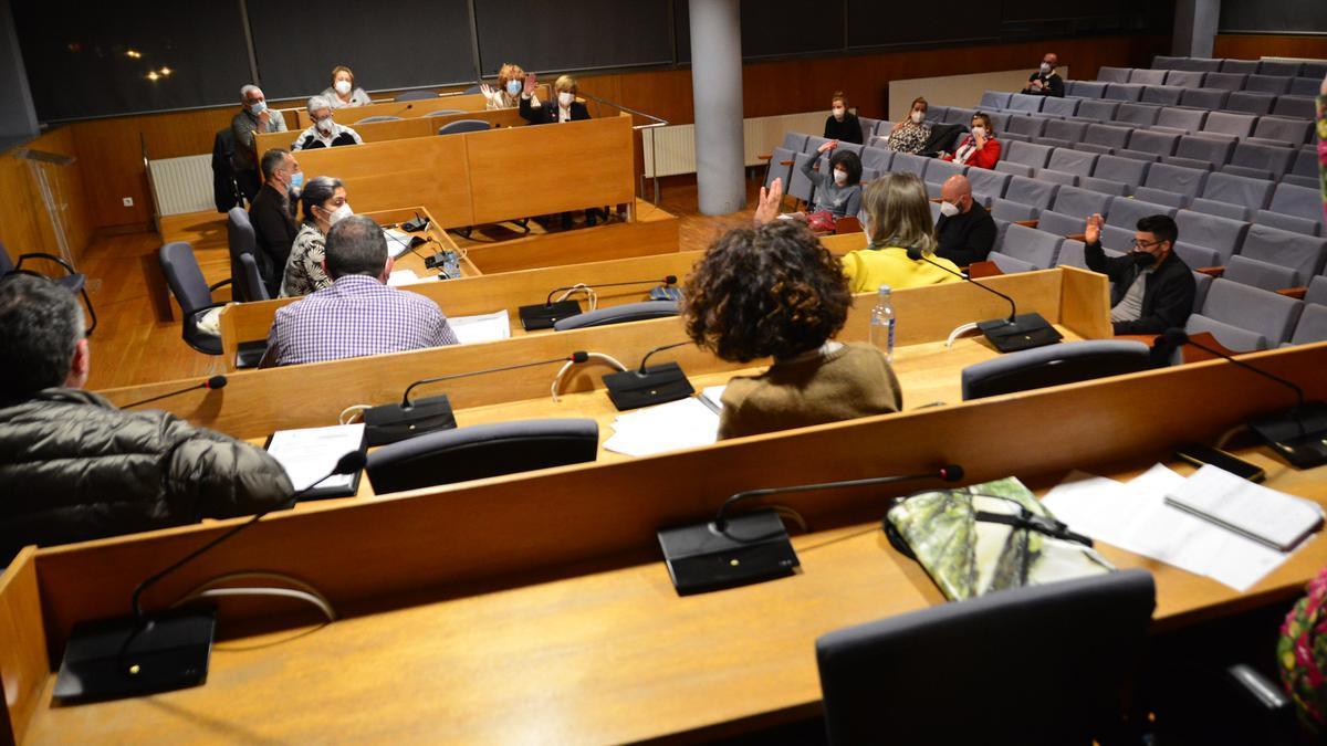 Pleno celebrada esta tarde en Cangas.