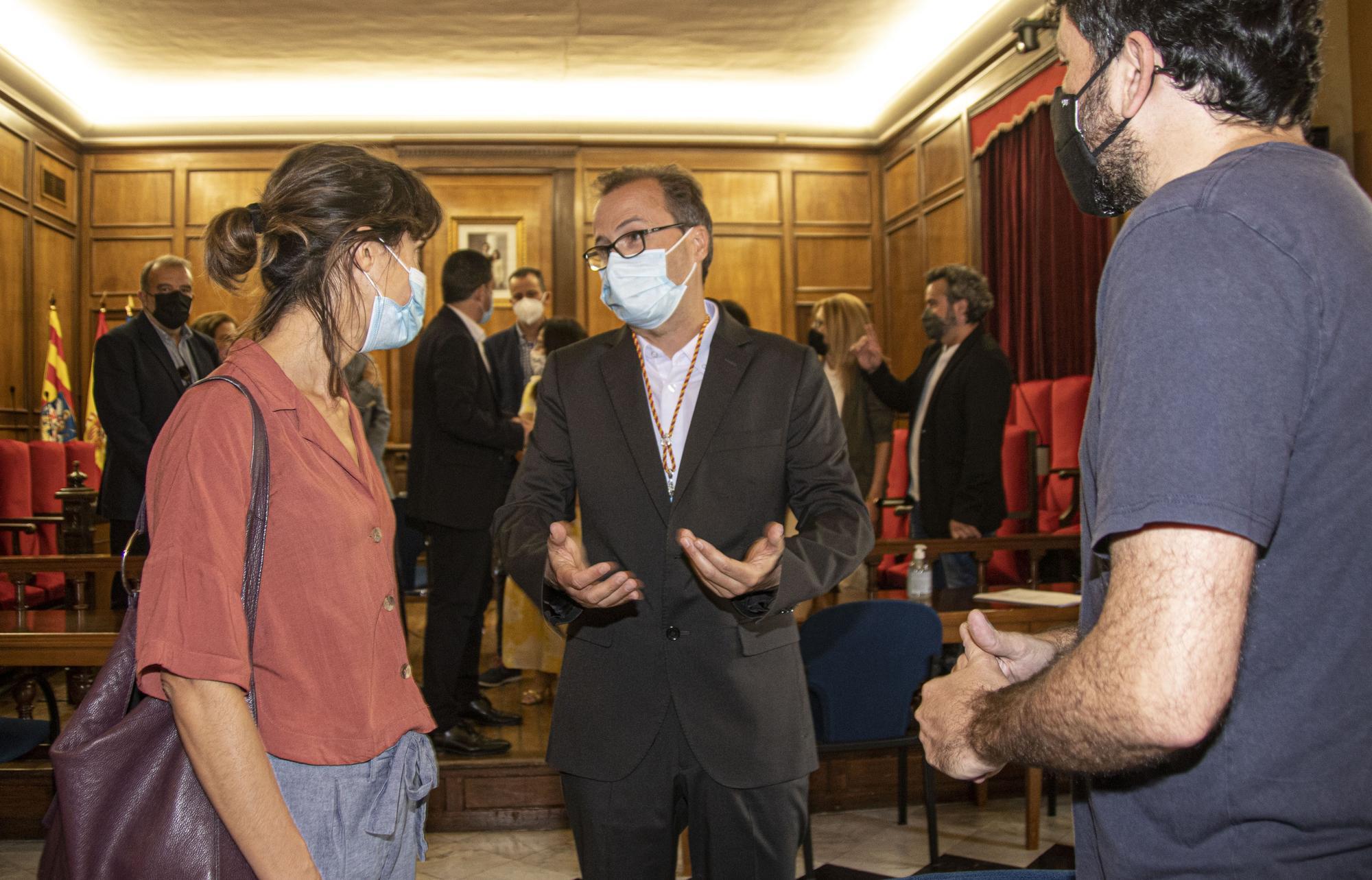 Toma de posesión de Jordi Segura, nuevo concejal del PSOE en Alcoy