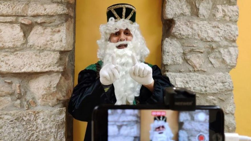 El Patge Reial de Regió7 espera la teva carta i té un vídeo per a tu!