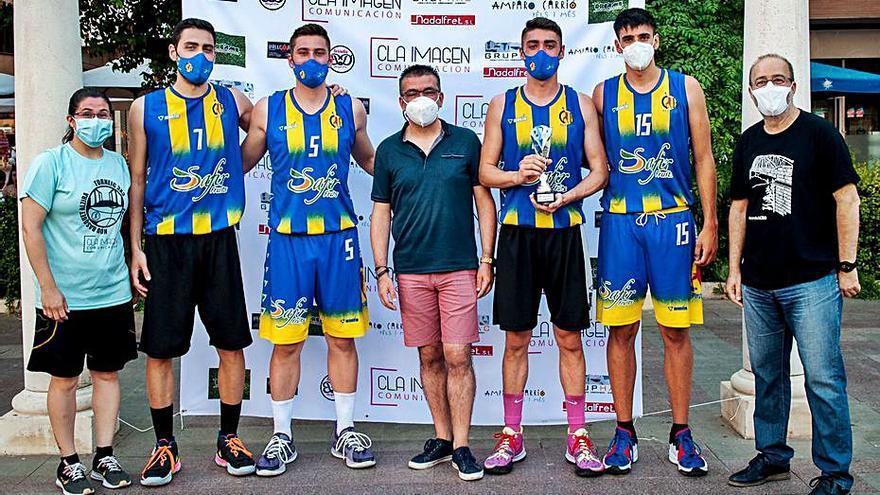 Alginet conquista el 3x3 de baloncesto de Sant Bernat