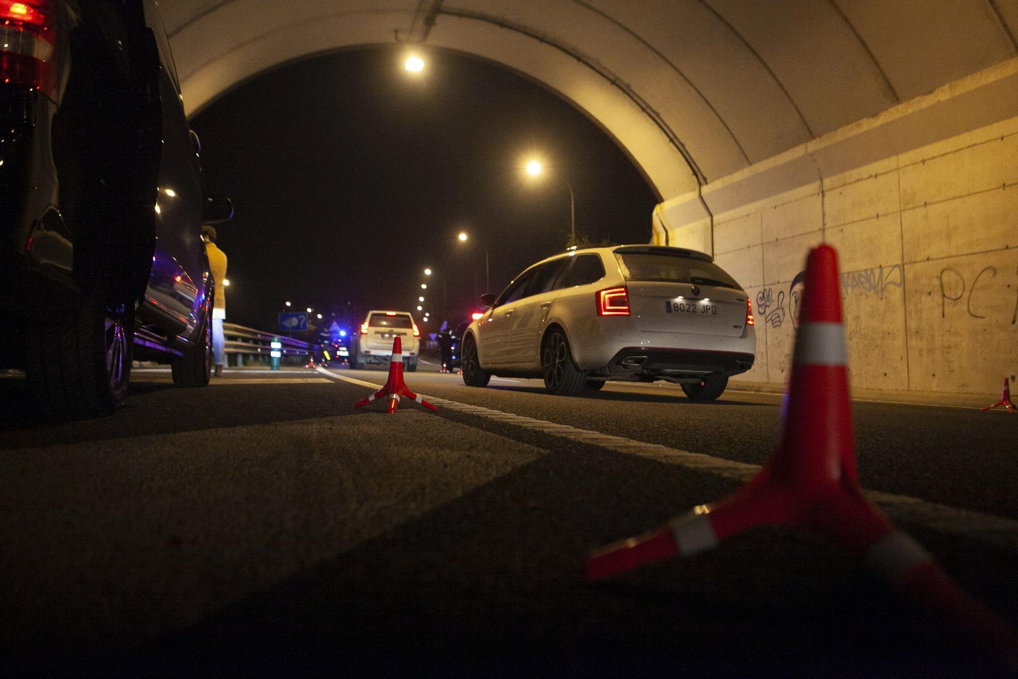 Patrullaje nocturno con la Policía Local de Oviedo