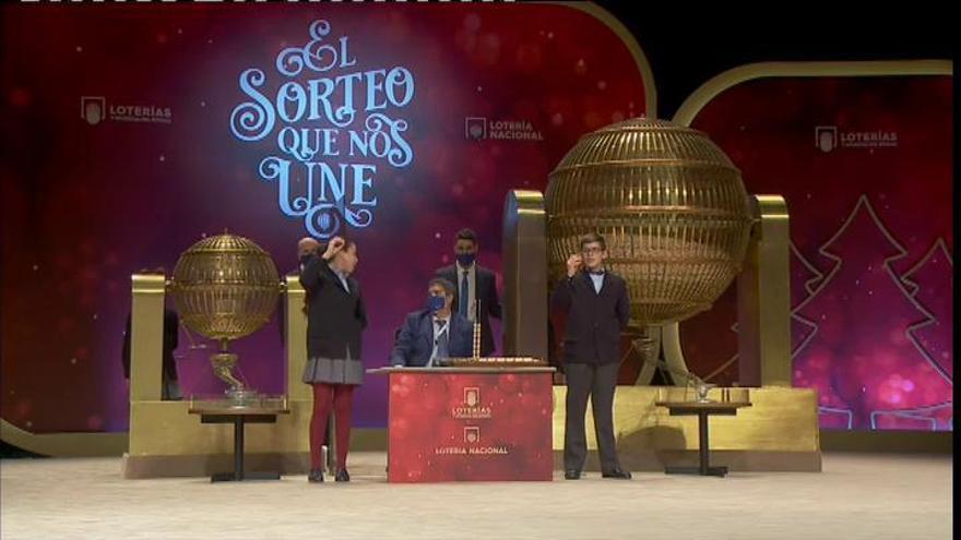 El 06095, segundo premio del sorteo de Navidad