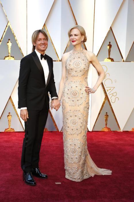 Nicole Kidman y su marido Keith Urban.