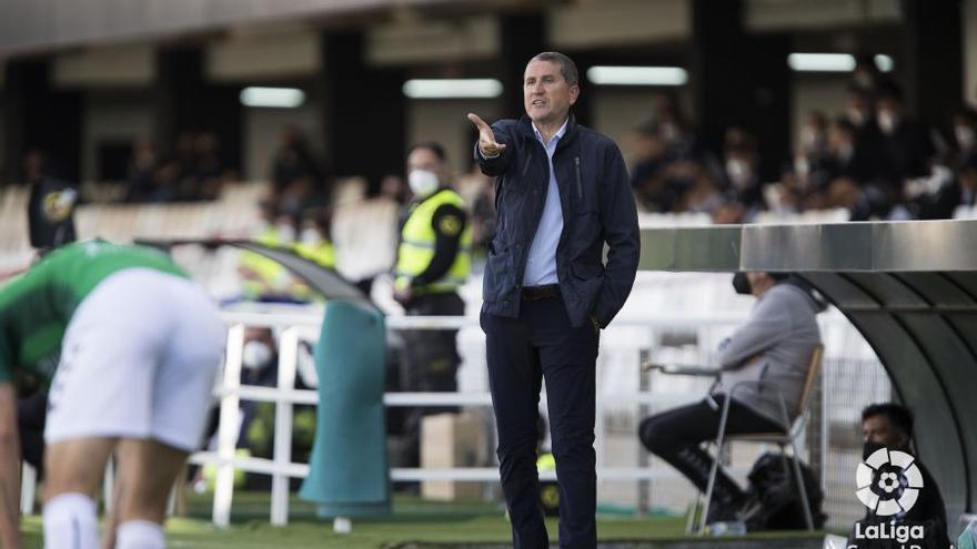 """Garrido, tras la derrota del Castellón en Cartagena: """"Estoy seguro de que nos salvaremos"""""""