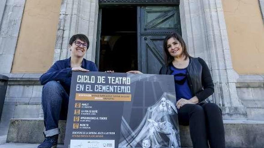 El cementerio de Avilés amplía su oferta cultural, ahora con obras de teatro